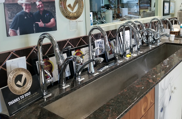 Faucets Calgary | Faucets Showroom in Calgary | Pete The Plumber
