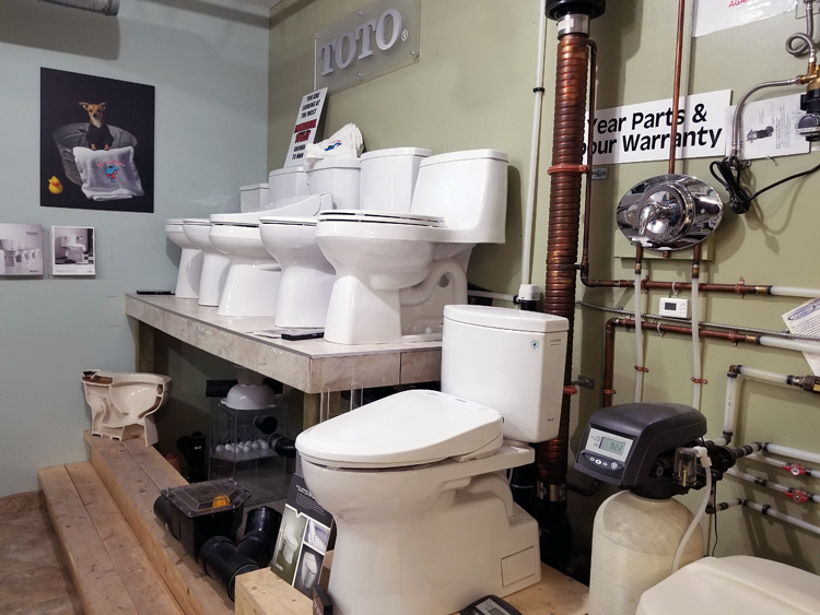 Toilets Calgary | Toilets Showroom in Calgary | Pete The Plumber